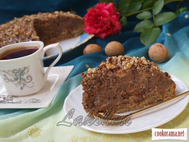 Торт «Горіховий достаток»