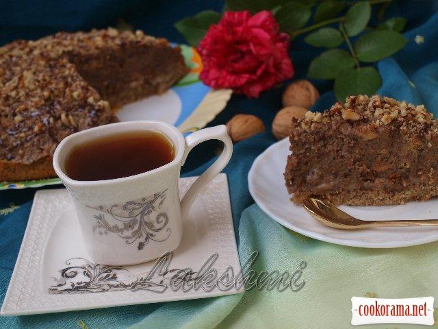 Торт «Ореховое изобилие»
