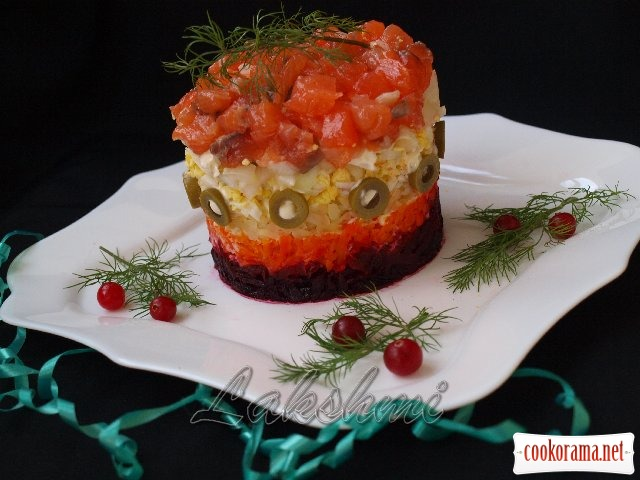 Салат королевская шуба рецепт с фото