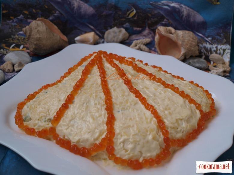 Салат «Морская ракушка»
