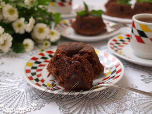 Шоколадне тістечко за 15 хвилин