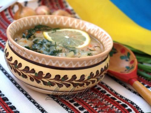 Луковый постный суп