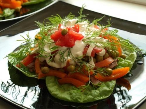 "Portion salad ""Ilmen"""