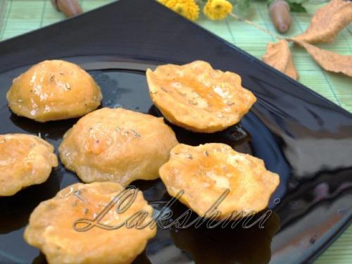 Куорічіні з гарбуза з сирною начинкою