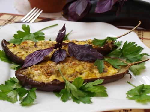 "Baked eggplants ""kucherikas"""
