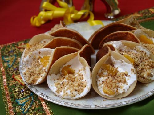 Kataef - Arab pancakes