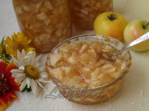 Яблучний джем з карамеллю