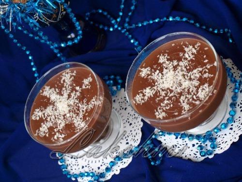 """Новорічний десерт з цукерок """"Сніжинки"""""""