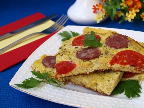Испанская тортилья (tortilla) из кабачков