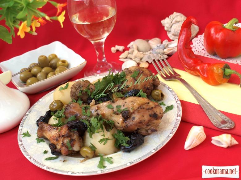 Испанская курица «Марбелья»