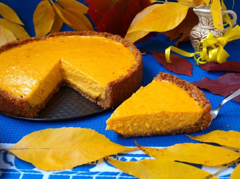 """Pumpkin cheesecake """"Autumn breath"""""""