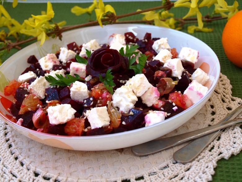 Салат бархатный рецепт с фото