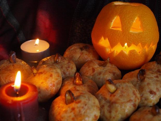 """Печенья на Хеллоуин """"Тыквочки"""""""