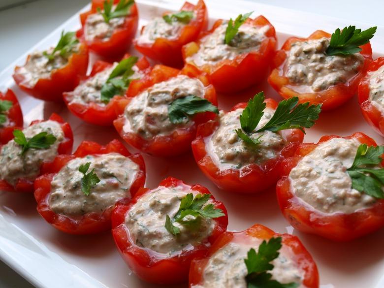 Закуска помидоры фаршированные рецепт