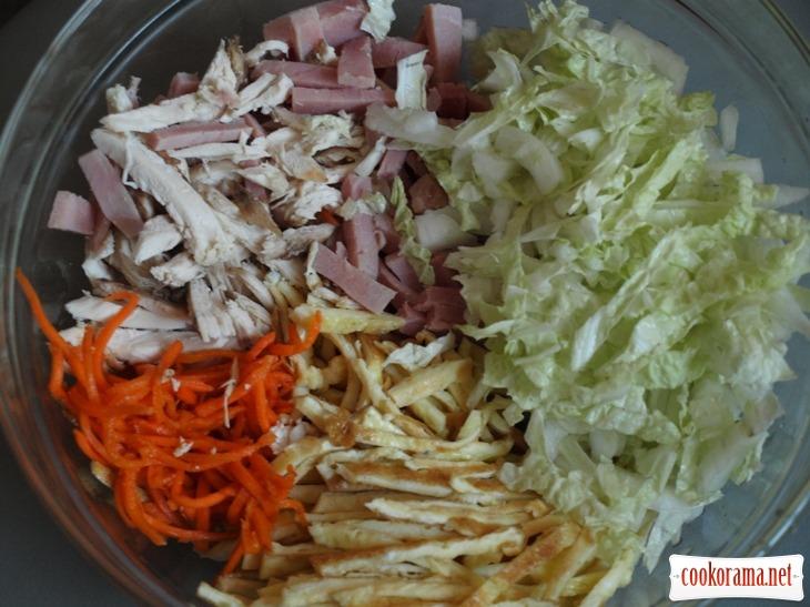 кулинарные рецепты салат анастасия