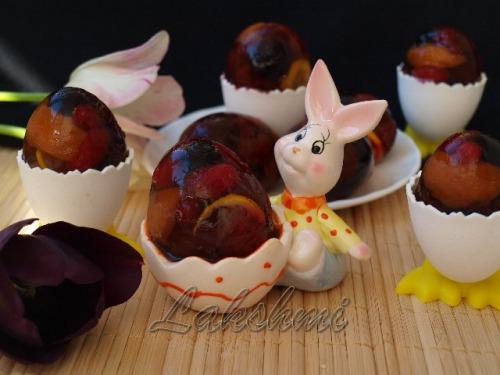 Фруктово-ягідні заливні яйця