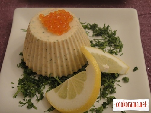 Терин з копченого лосося
