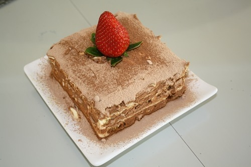 Tiramisu by recipe from Italian grandmothers