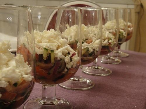 Овощной салат по-болгарски
