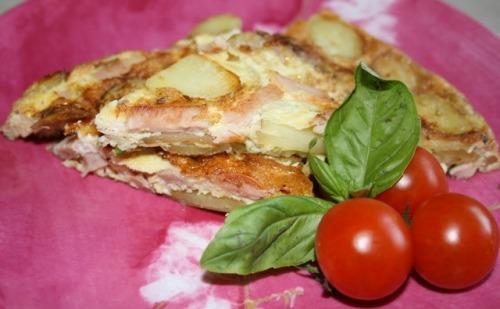 Суто іспанський сніданок або Tortilla con patatas