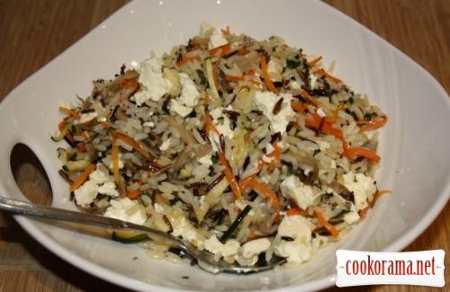 Rice in Mediterranean style