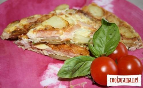 Чисто испанский завтрак или Tortilla con patatas