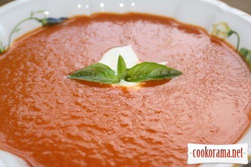 Крем-суп из сладкого перца