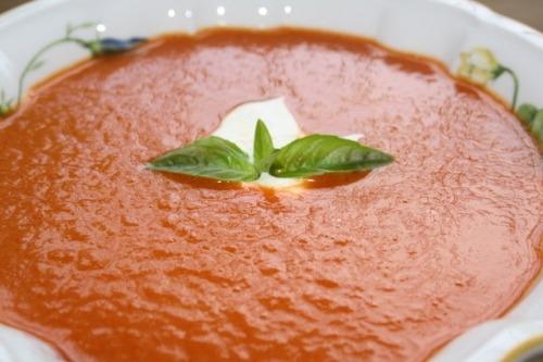 Sweet pepper cream-soup