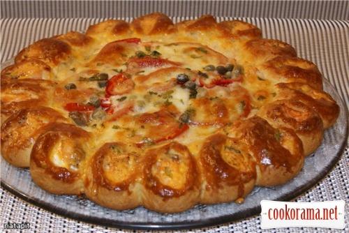 Рибний пиріг з лососем