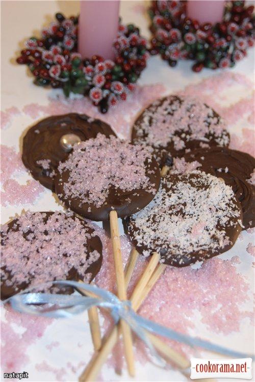 Шоколадные «Лоллипопы»