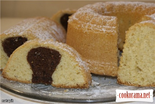 Миндальный кекс с оливковым маслом