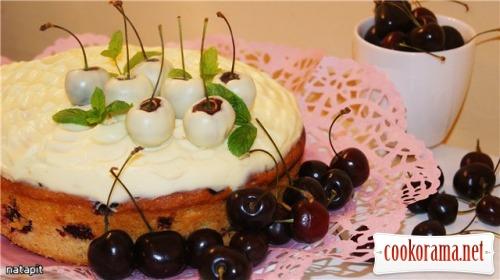 Вишнево-черешневый пирог «Алиса»