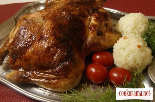 «Утомлённая» курица