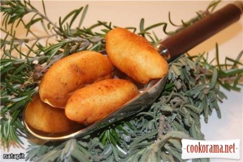 Пирожки-миньон с грибами «Жульен»