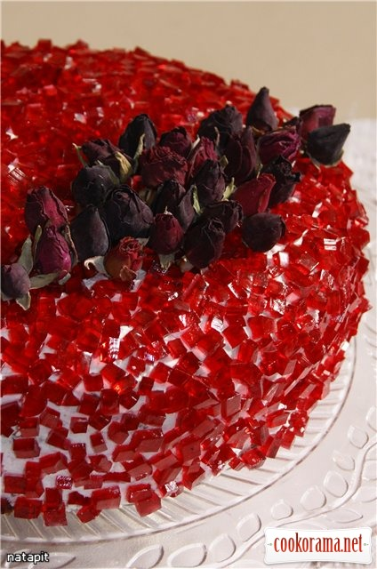 Торт «Шифоновый рубин»