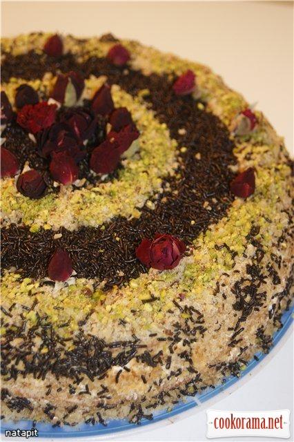Торт «Сметанник для Ганни»