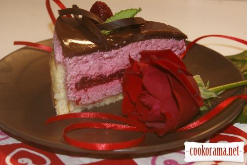 Торт «Малиновая эйфория»