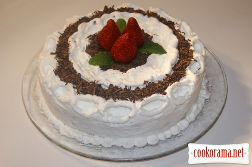 Торт «Белый трюфель»