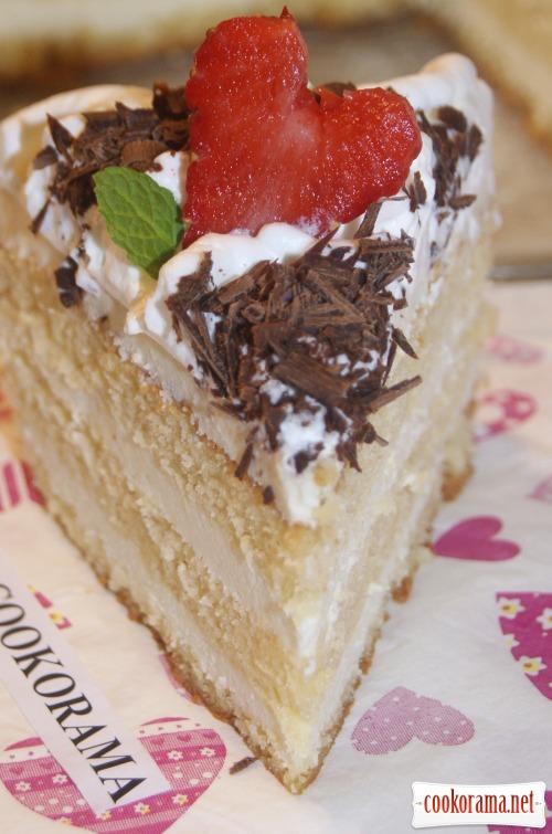 Торт «Білий трюфель»