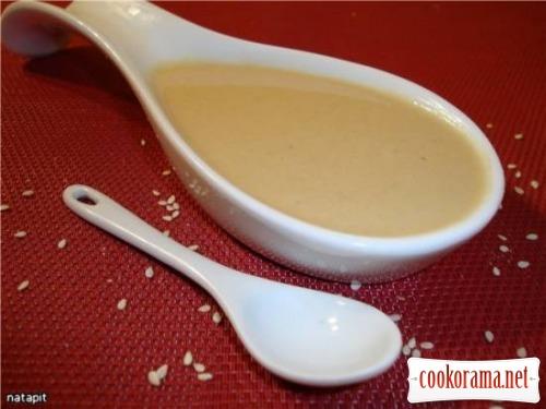 Baba Ganoush + Tahin paste recipe.