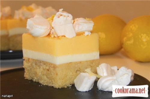 Пирожное «Лимонная симфония»