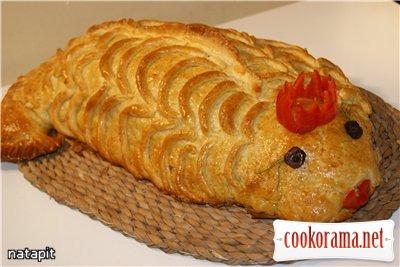 Кулебяка «Рыбка моя Золотая»