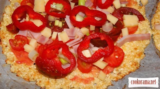 «Тесто» для пиццы по-летнему.