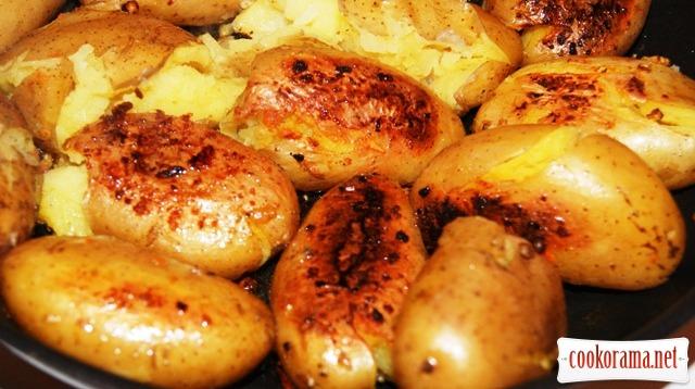 «Запечeнный» картофель (Pommes de terre fondantes)