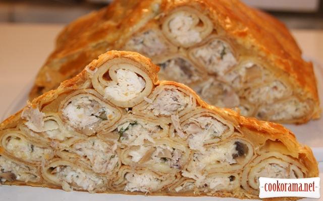 Пирог «Монастырская изба»