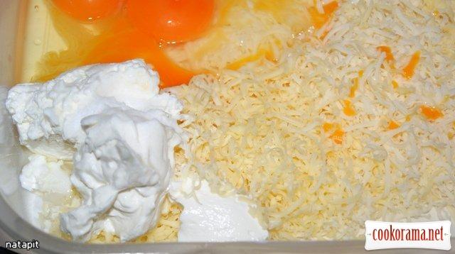 Цветная капуста в сырно-горчичном кляре.