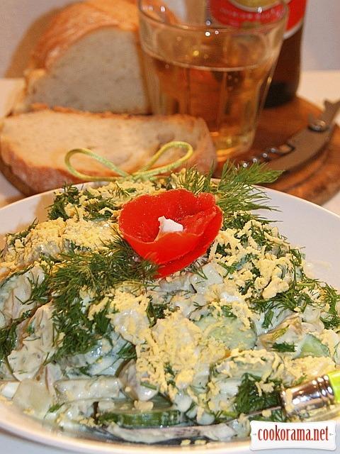 Берлинский картофельный салат
