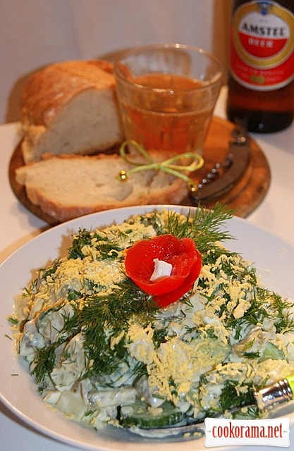 Берлинский картофельный салат.