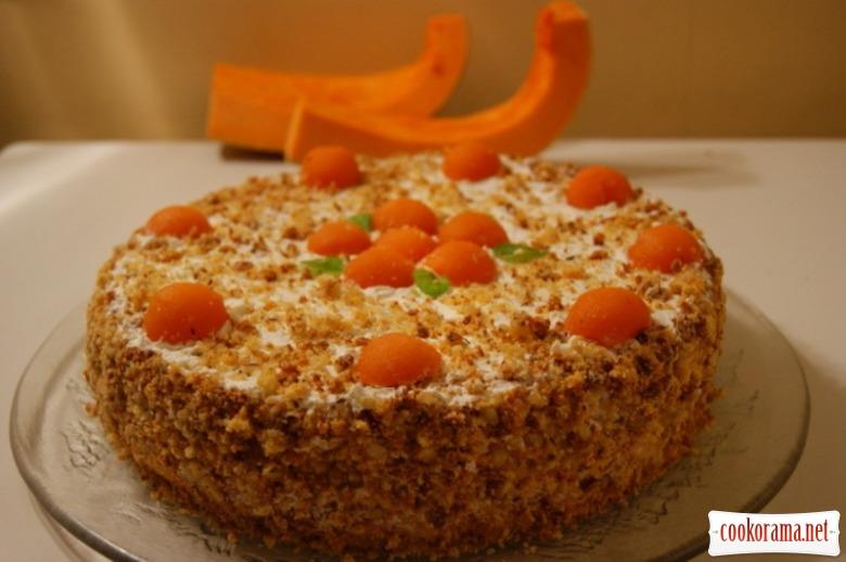 Торт «Шифоновая тыква»