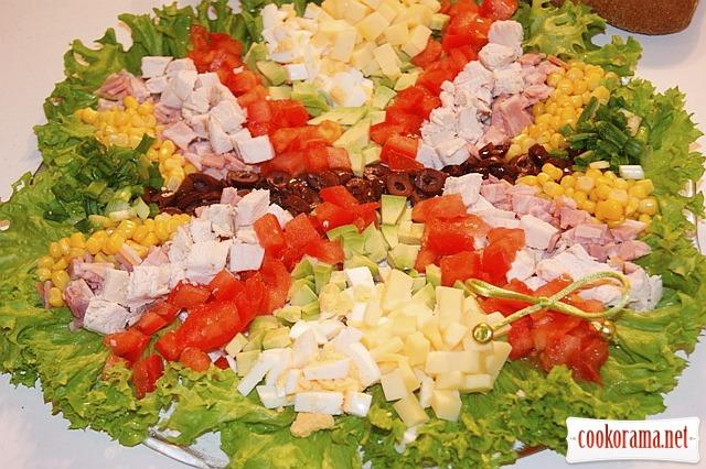Кобб-салат (Cobb Salad)